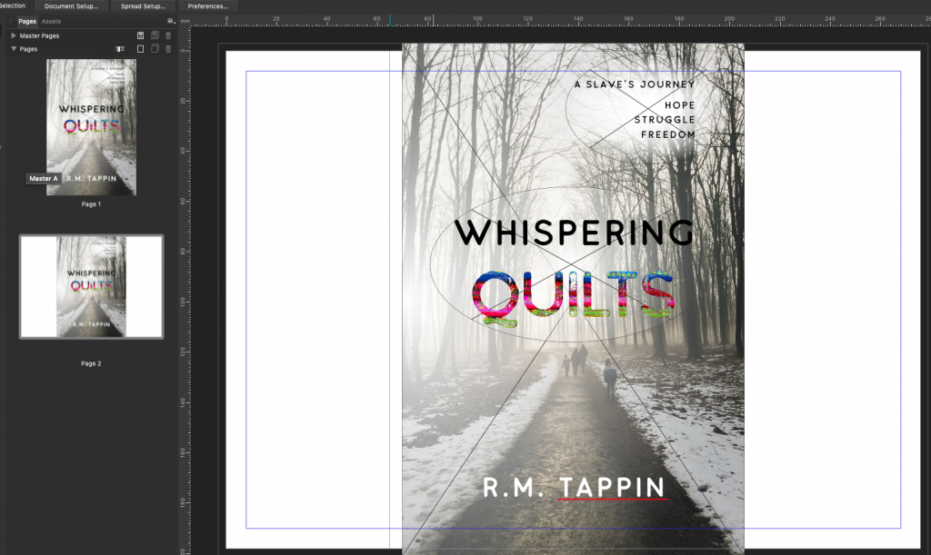 Design a Book Cover in Affinity Publisher Part 2 – Robert